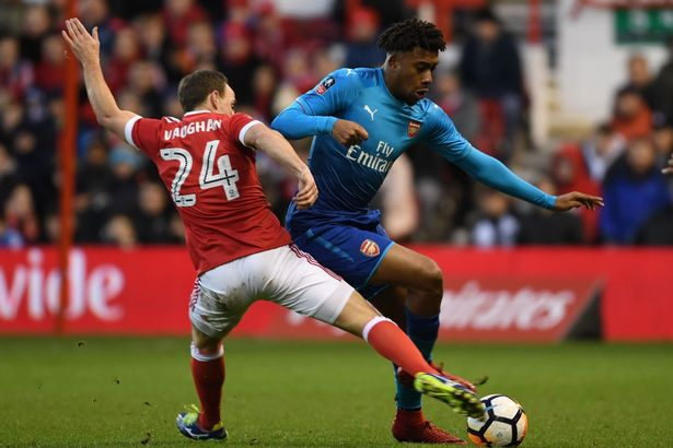 Outrageous: Alex Iwobi filmed partying hours ahead of Arsenal's FA Cup defeat