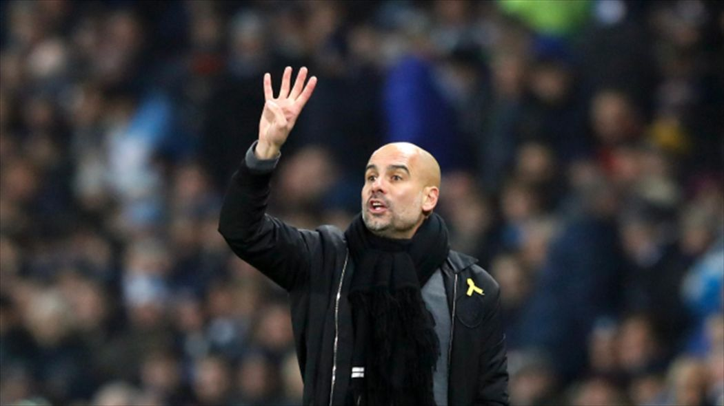 Man City Boss Guardiola wins record 4th straight Manager of the Month award