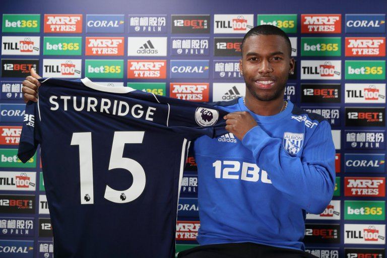 Official: Liverpool's Daniel Sturridge joins West Brom on Loan