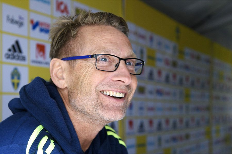 New Super Falcons Coach Dennerby arrives Nigeria
