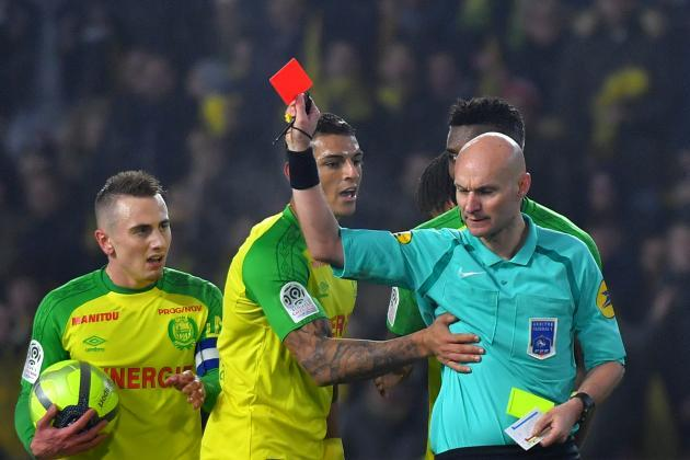 French Referee Tony Chapron suspended for kicking Nantes' Diego Carlos