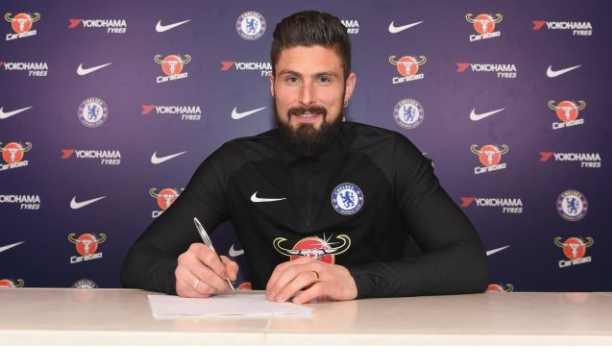 Chelsea Sign Olivier Giroud from Arsenal