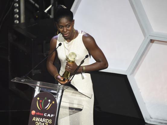 Timeline of Asisat Oshoala's Regal style at CAF Awards