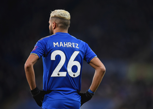 Report: Liverpool want Riyad Mahrez as Coutinho's Replacement