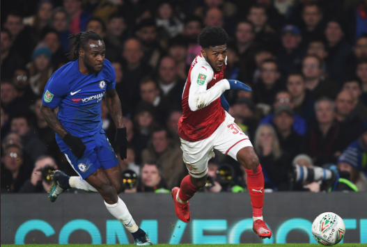 Victor Moses vs Maitland-Niles: Who won the Battle at the Bridge