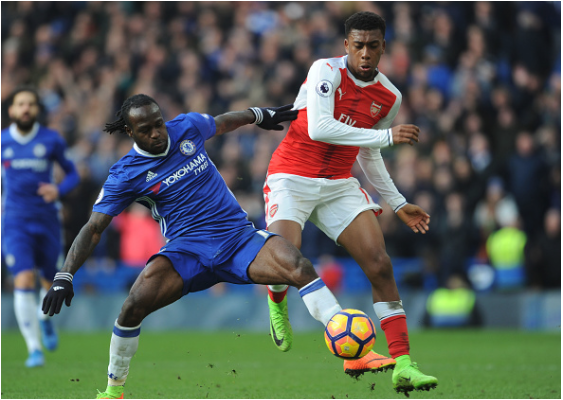 Iwobi, Moses Clash in London Derby – Who enjoys the better Head to Head?