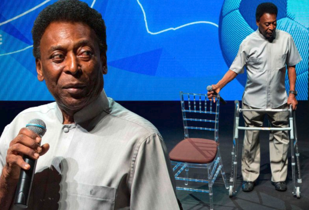 Football Icon Pele Collapses, Hospitalized