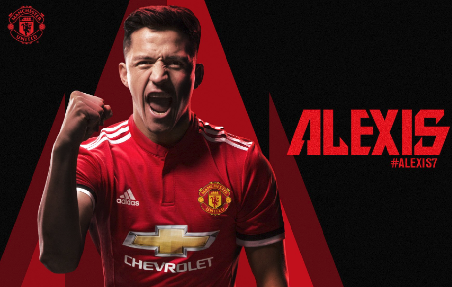 Number 7! Sanchez Issued Iconic Number as Man United Confirms Signing