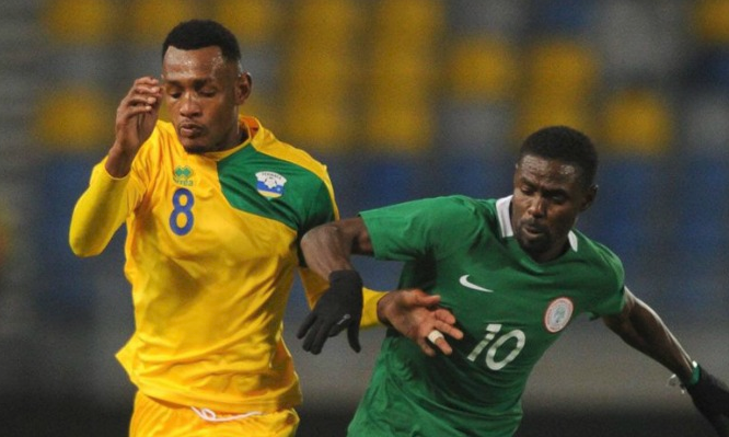 Rabiu Ali Scores Record-making Goal against E/Guinea