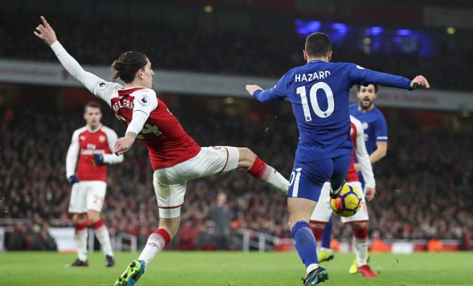 It was a Penalty! Hazard defends Referee in London Derby drama