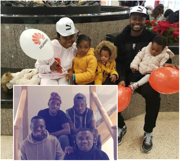 Mr&Mrs Vinny, Nacho in Okpu Ago… Nigerian Sport Stars send New Year Greetings