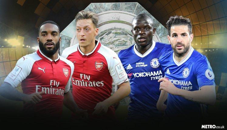 CARABAO CUP: Morata, Fabregas, Mkhitaryan out as Arsenal meets Chelsea again