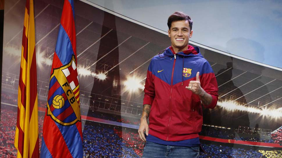 New Barca Record Signing, Coutinho Out For Three Weeks