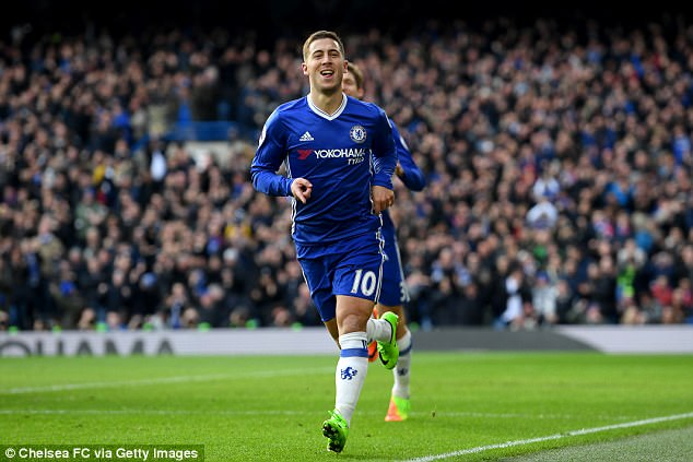 """Report: Chelsea's Hazard """"agrees"""" to leave for Madrid in summer"""