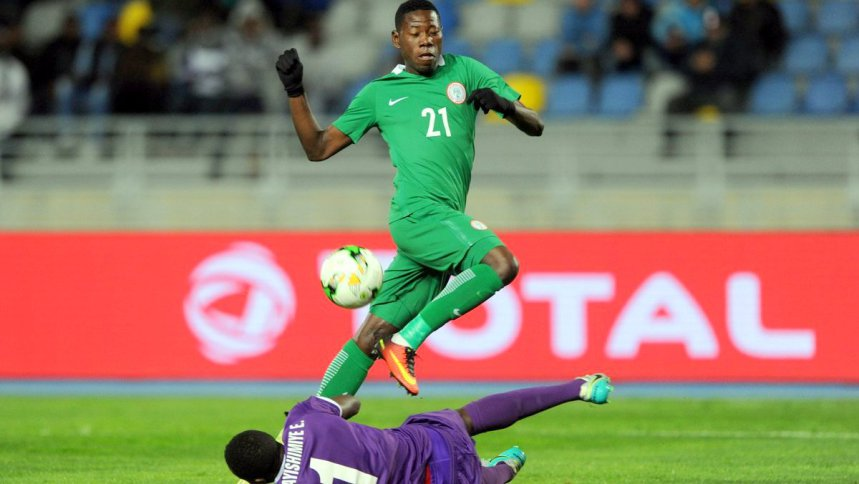Injured Super Eagles Forward gets return date