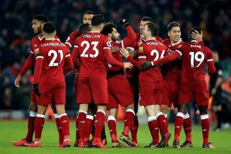 Liverpool 4:3 Man City –  Reds end City's unbeaten run with massive Anfield win