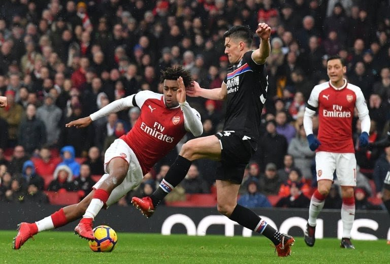 EPL: Iwobi ends goal drought in Arsenal's win over Palace