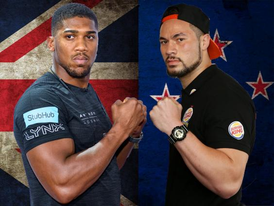 Anthony Joshua knows about Parker's dedication, says trainer Kevin Barry