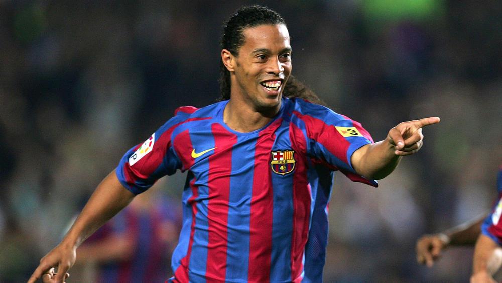 Barcelona and Brazil Legend Ronaldinho retires from Football
