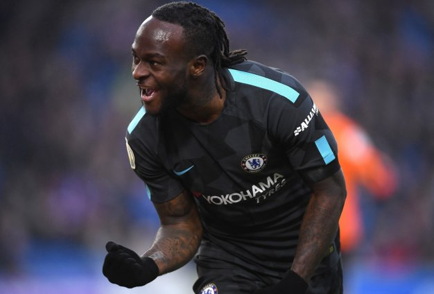 Moses scores as Chelsea thrash Brighton & Hove Albion