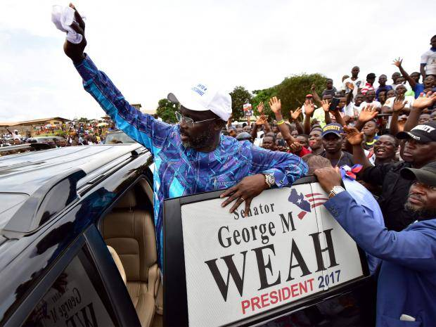 Wenger hails 'unbelievable' George Weah ahead of Inauguration