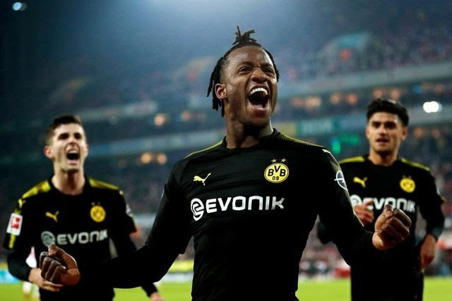 Michy Batshuayi scores twice in Borussia Dortmund debut