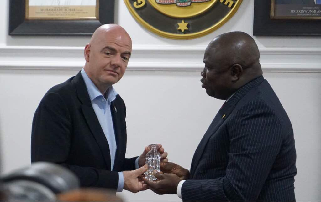 Lagos ready to host any FIFA Project including World Cup – Ambode