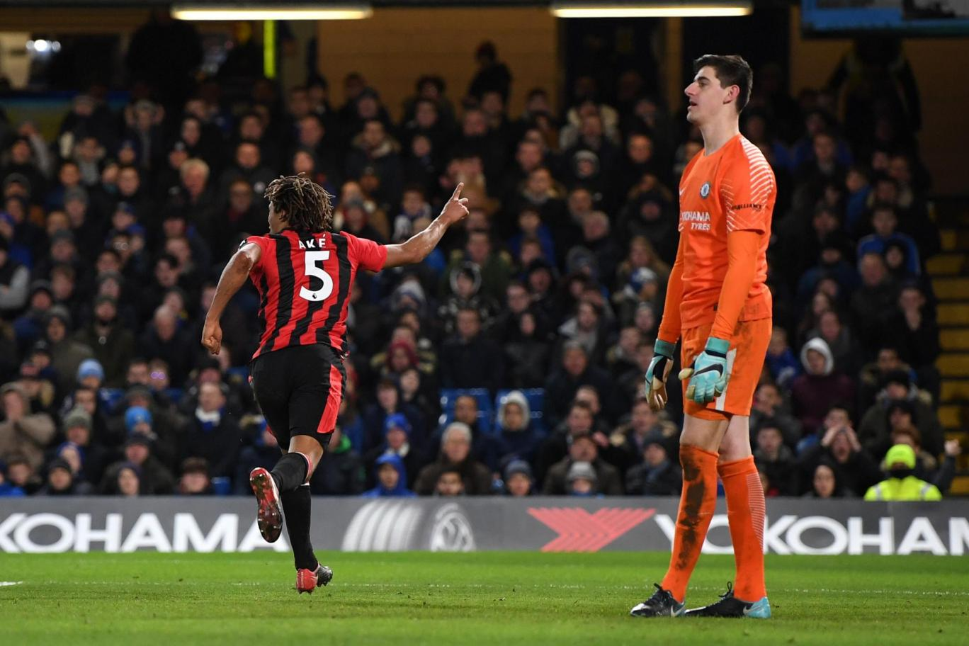Chelsea stunned by brave Bournemouth at Stamford Bridge