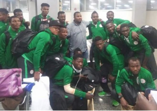 CHAN 2018: Home based Eagles arrives Nigeria (Video)