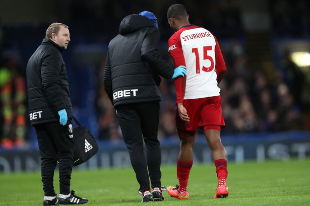 Daniel Sturridge: Injured West Brom man 'out for a week'