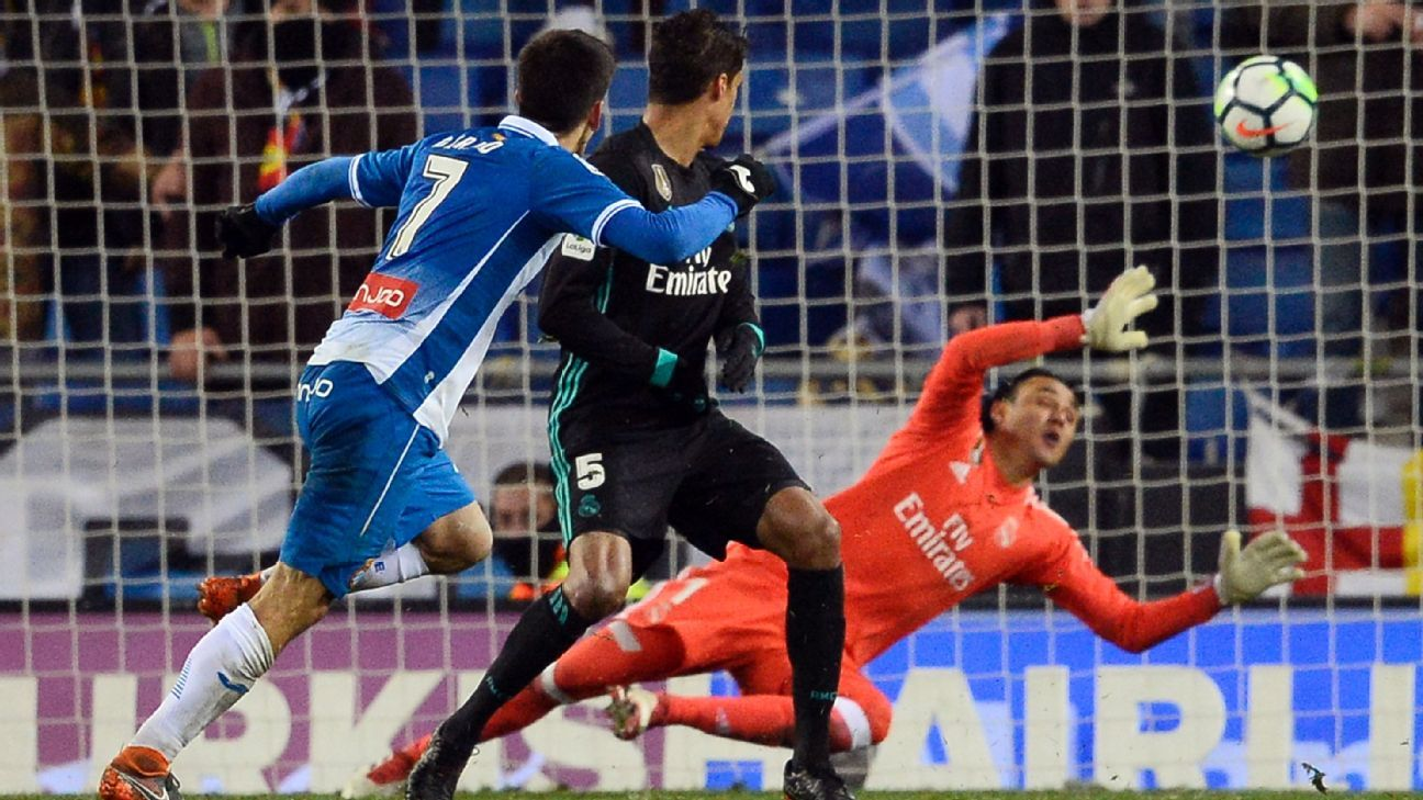 Madrid pay for resting Ronaldo as Espanyol secure massive win