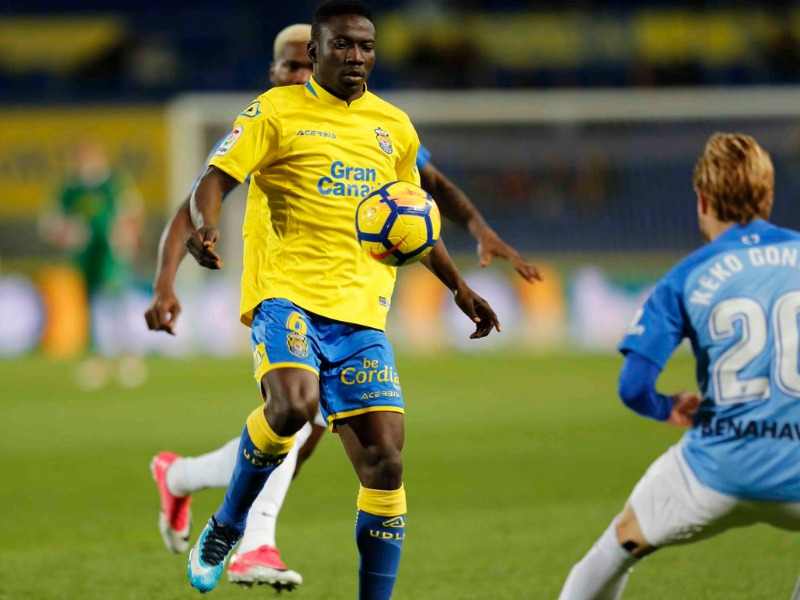 Etebo makes Las Palmas dream debut, wins Man of the Match