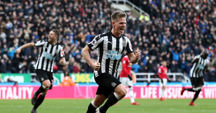 Newcastle 1 Vs. 0 Man United: Ritchie effort throws Man United 16 points off Man City