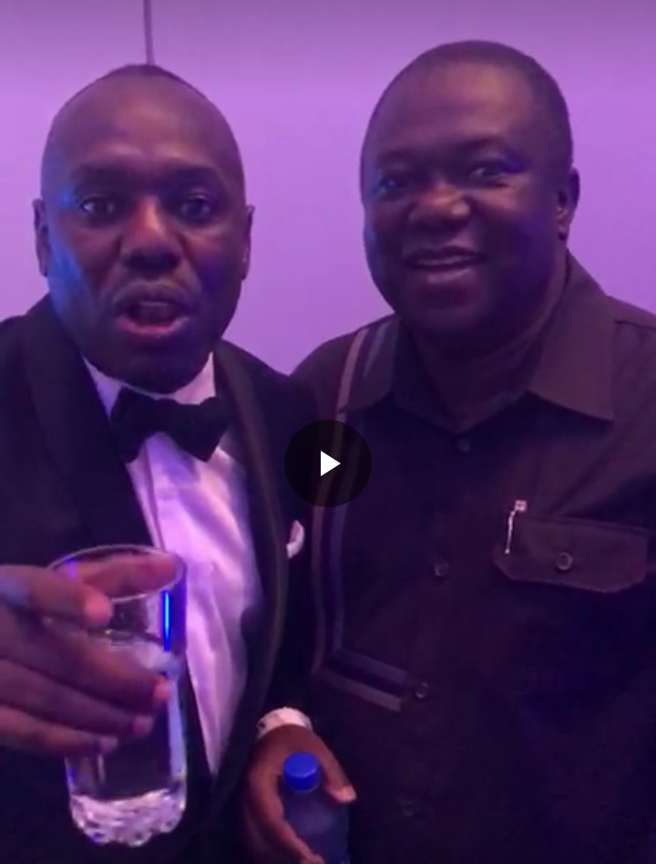 Oruma has fully recovered! Watch him at the AITEO/NFF Awards Night (Video)