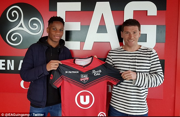 Didier Drogba's 17-year-old son, Isaac joins Ligue 1 club Guingamp