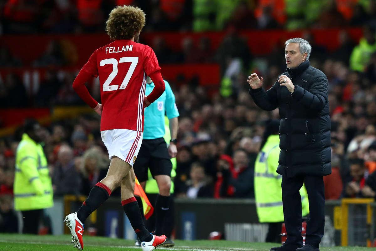 Mourinho explains 'Crazy' Fellaini substitution in United loss to Tottenham