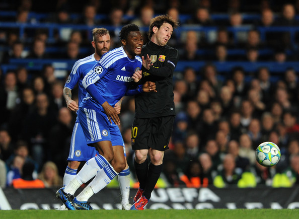 Mikel backs Chelsea to upset Barcelona at Nou Camp