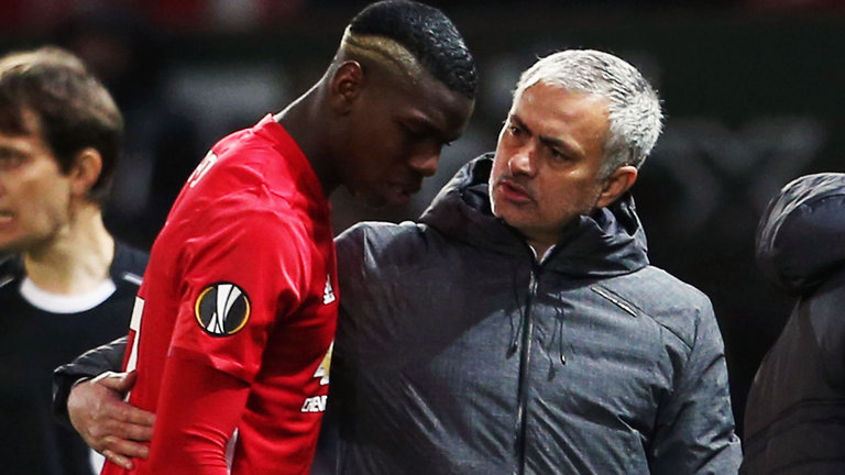 Man United Boss Mourinho insists he has no problem with Pogba