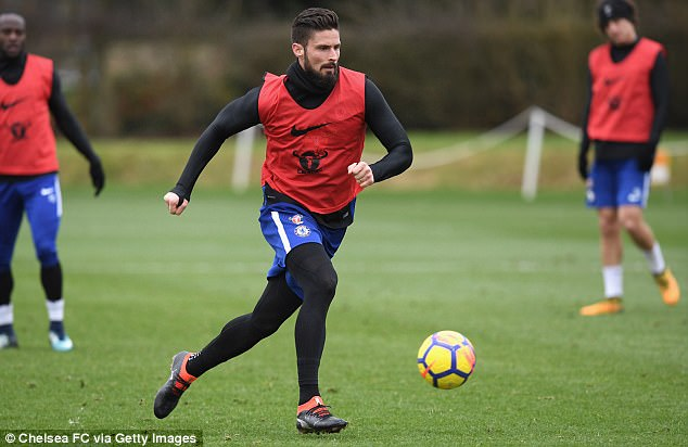 Olivier Giroud Set For Chelsea Debut Against Watford
