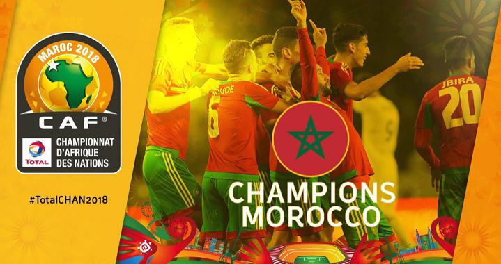 Morocco Thrashed Nigeria 4-0 in CHAN Final