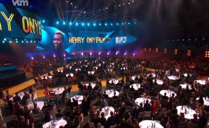 Henry Onyekuru Honored in Belgium