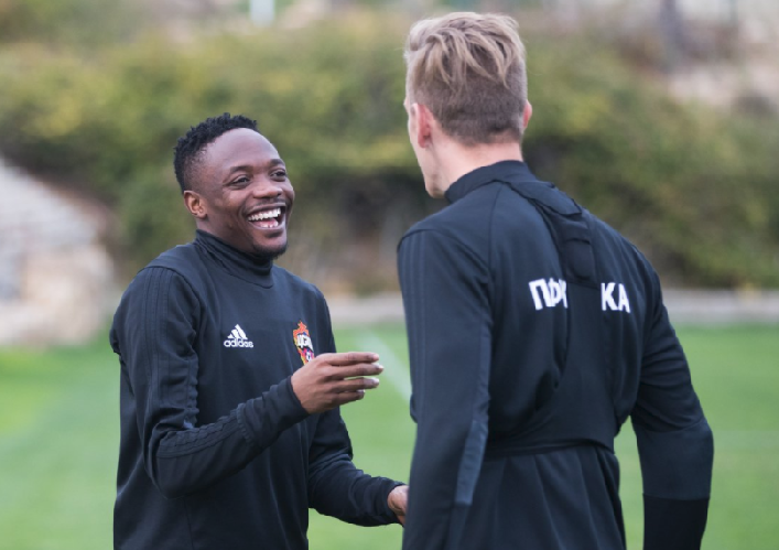 Ahmed Musa Trains again with CSKA Moscow