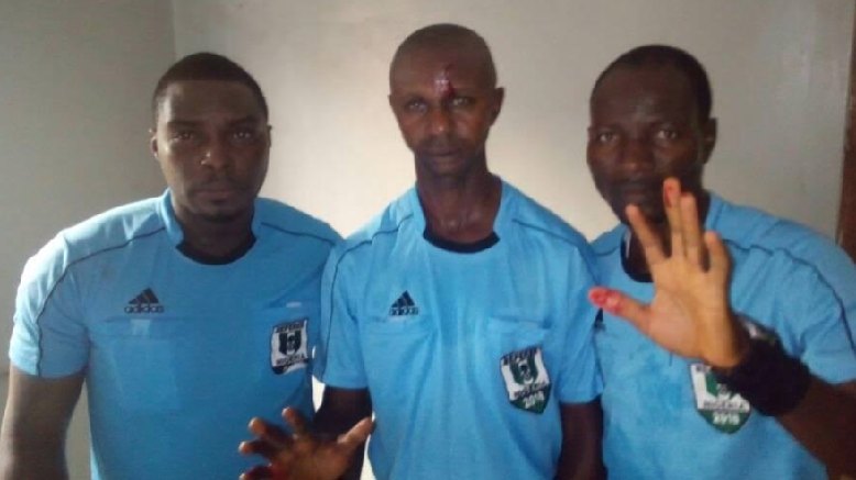 Sunshine Fans Attack Match Referee after NPFL Game