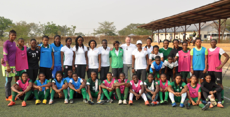 Super Falcons Improving With Dennerby – Igbinovia