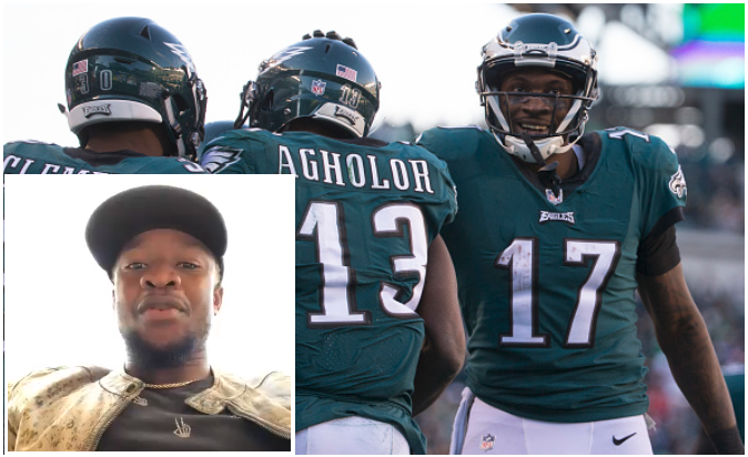 Super Bowl LII: Onazi Rooting for Ajayi, Agholor and Philadelphia Eagles