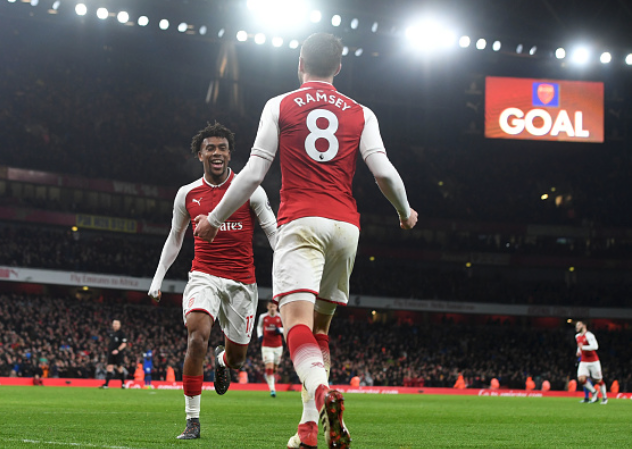 Arsenal Gunning for Top 4 Finish and UEL Trophy – Iwobi
