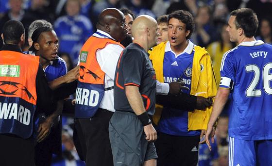 Ref Admits denying Chelsea Legitimate Penalties against Barca