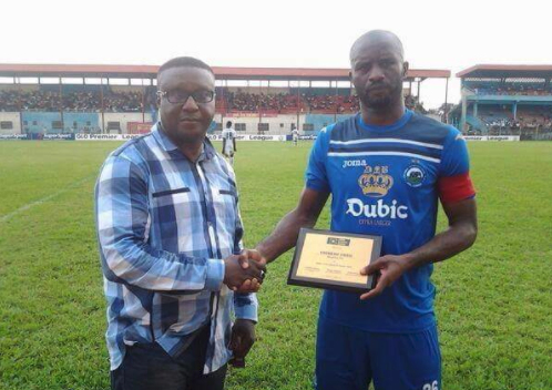 Udoji will be Honored says Chairman who gave him first Pro contract