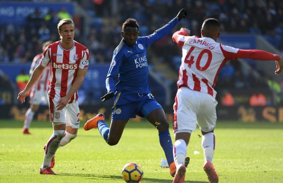 Ndidi, Iheanacho Help Leicester Fightback Against Stoke