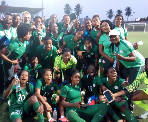 Nigeria wins Bronze at WAFU Women's Cup
